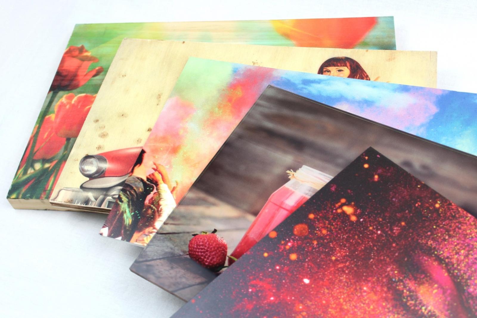 ¡Impresión en gran formato sobre materiales rígidos!