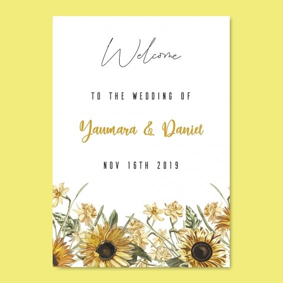 Diseño para boda Yaumara y Daniel