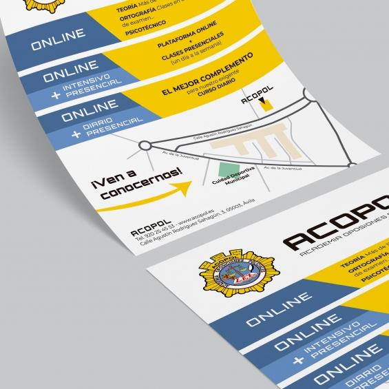Diseño de flyers para ACOPOL